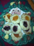 Coconut Jam Thumbprints