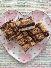 Samoa Brownie Layer Bar