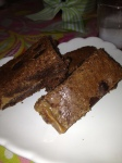 Kyle's Chocolate Chip Caramel Brownies
